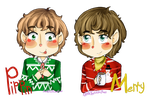 Merry and Pippin by ThePastelHobbit