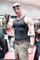 Riddick at NY ComicCon 1 by ajb3art