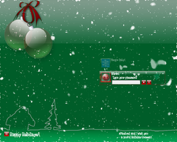CP Christmas Logon by TNBrat