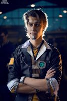 Handsome Jack cosplay by Pvt-Waffles
