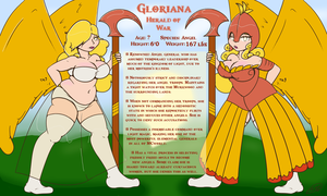 Gloriana Reference and Bio by Axlwisp