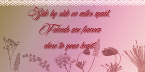 True Friend~ Quote by RMS-OLYMPIC