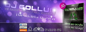 Dj Gollum - Tumbling Down - Timeline Cover by Djblackpearl