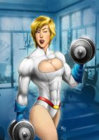 Power Girl by dartbaston by elee0228