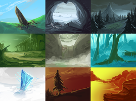 10 min background concepts by Diazrar