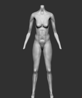 Sculpt Female Body by corazonprofano