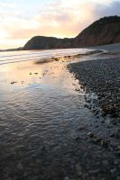 Sidmouth at sunset by Betweenthetwilight