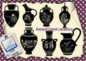 Ancient Greek ceramics by roula33