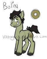 Bolin pony by Voltage-X