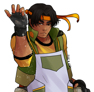 Voltron - Hunk by Bisho-s