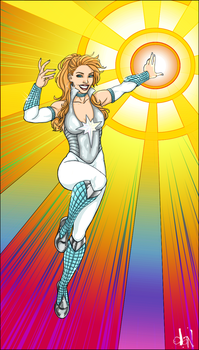 Who else? DAZZLER! by Lightengale