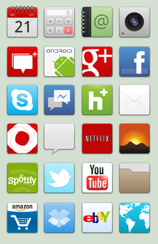 HD Apps Preview by Aaron-A-Arts