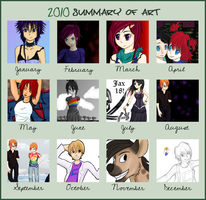 2010 - my year in art by k-d-t
