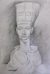 A Bust Drawing by Waift