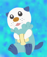 Unova Starter 501 - Oshawott by AnimeFan4Eternity23