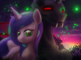 Mare and Monster by Firgof
