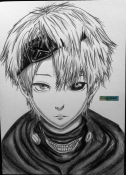 Kaneki by SgkDrawing