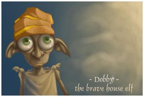 .: Dobby the brave :. by monito
