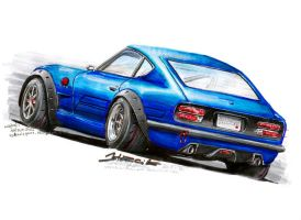 Datsun 240Z by HorcikDesigns
