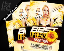 Best Of Bests Music Station Flyer Template PSD by REMAKNED