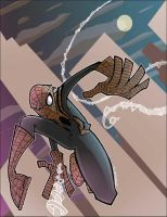 Spiderman... spiderman... by JeremyTreece