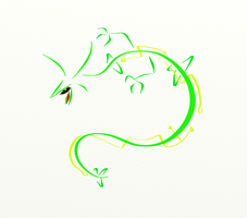 Oversimplified: Rayquaza by The-End-Inc