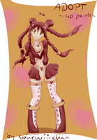 Adopt Pigtailed Girl - closed by Nahemii-chan