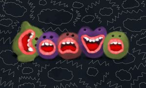 Free Will Monsters by Ridikul