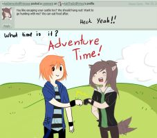Q8: Adventure Time by AskTheDollPrince
