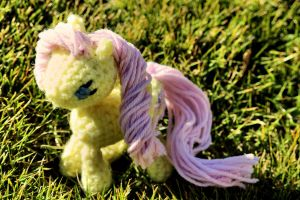 Crochet Fluttershy by AbsolutelyBecs