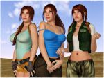 The three ages of Lara by bleinnie