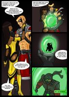 Mortal Kombat Issue #1 Page 17 by MarcusSmiter