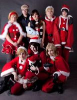 Hetalia Christmas by Peach-8D