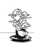 Cup of tea by tizali