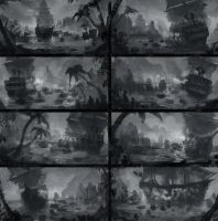 LaGrande and the 10 Sea Beggars: Thumbnails by boc0