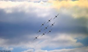 Nine Blades in the Sky by Mark-Photographer