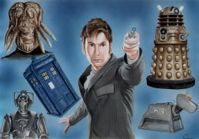 Dr. Who by Retrodan16