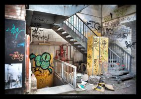 back alley by subaqua