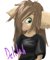 Delilah Lineless by CautiousInsanity