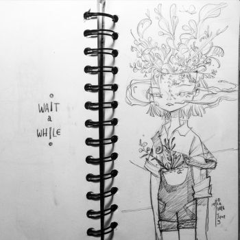 Wait a While by SillyJellie