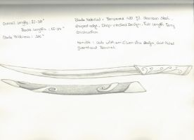 My own elvish fighting knife by Ithiliel-o-Gondolin