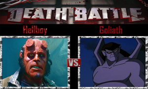 Hellboy vs. Goliath by SonicPal
