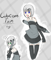 Wacom-tan by x3Dorkfullx3