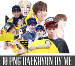 PNGPACK Baekhyun EXO by FishFamily
