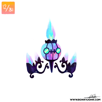 10/12 Chandelure! by BonnyJohn