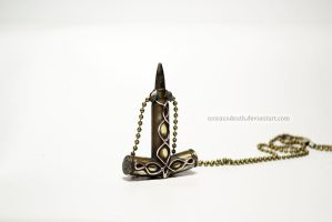 Mjollnir (made of bullets 5.56x45) by MoranaDeath