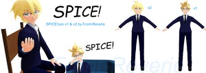 Spice!Len MMD DL NO(please help me with this...) ~ by front-reverie