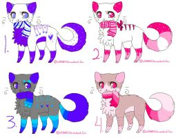 Sparkle Cat Adopts *CLOSED by Frosty-Adopts