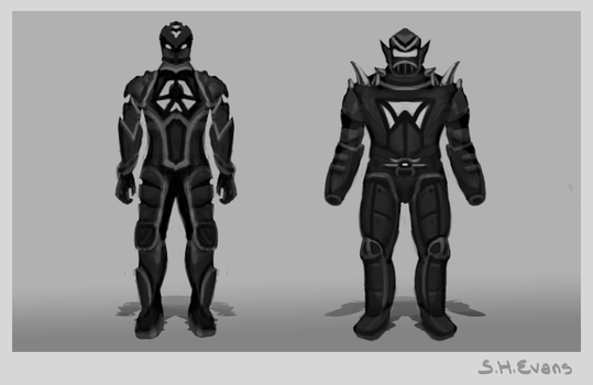 Robot Concepts by shevans