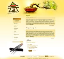 Site about Japan culture by webgraphix
